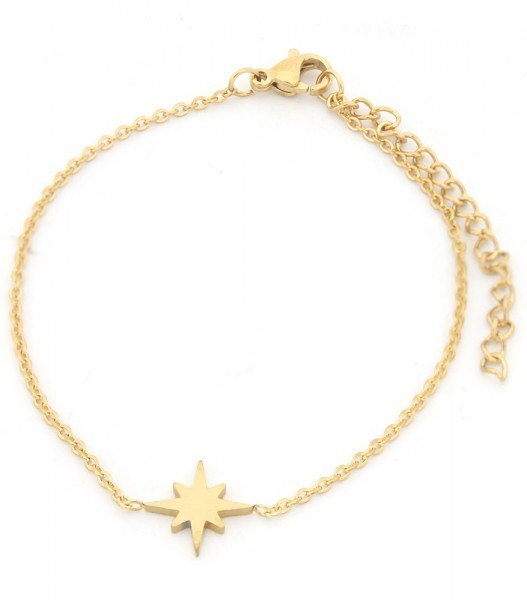 Armbandje Shooting Star Goud